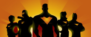 resilient recovery, super heroes